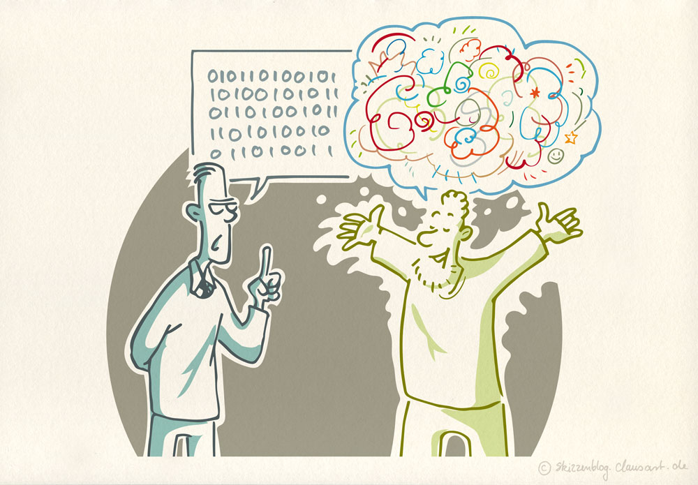 Unser digitalisiertes Leben - Philosophisch betrachtet | Gert Scobel
