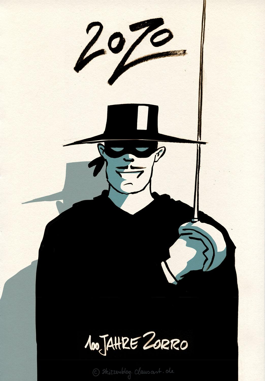 """…am 29.11.1920 erscheint """"Das Zeichen des Zorro"""""""