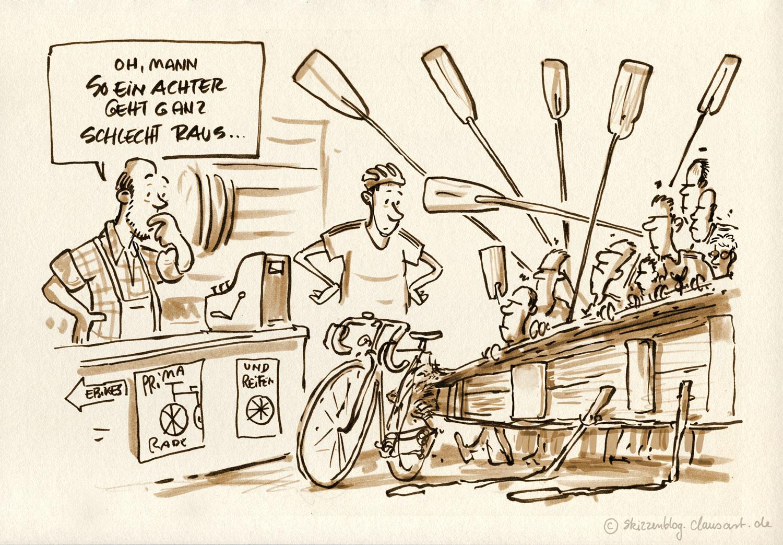 am besten sie kaufen sich gleich ein e-bike